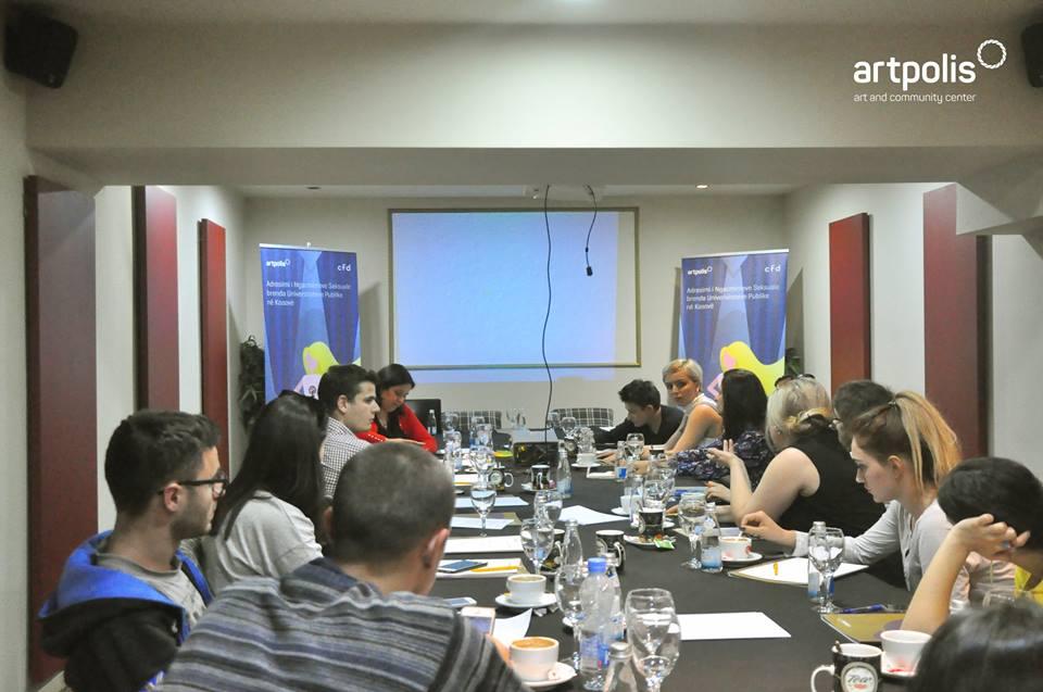 """Punëtoria """" Adresimi i Ngacmimeve Seksuale brenda Universiteteve Publike në Kosovë"""""""